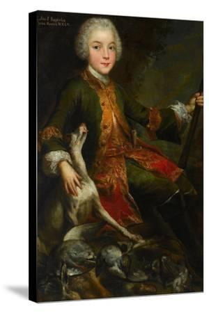 Portrait of Józef Sapieha (1737-179), C. 1740-Augustyn Mirys-Stretched Canvas Print
