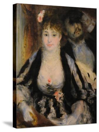 La Loge (The Theatre Bo), 1874-Pierre-Auguste Renoir-Stretched Canvas Print