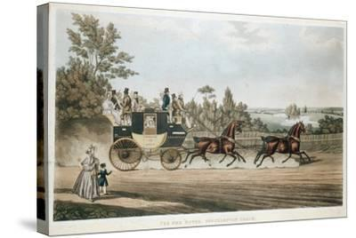 The Red Rover, Southampton Coach, C1815--Stretched Canvas Print