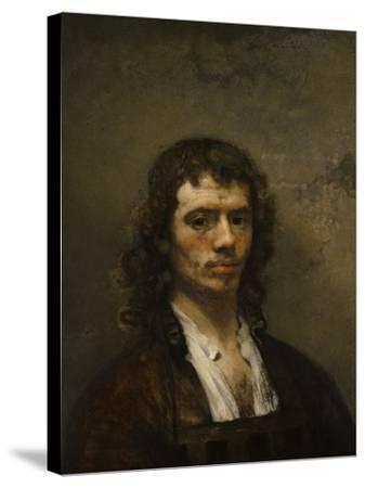 Self-Portrait, C. 1645-Carel Fabritius-Stretched Canvas Print