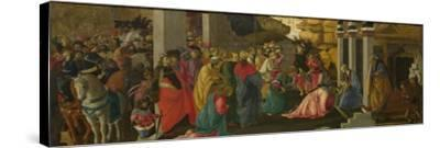 The Adoration of the Kings, Ca 1470-Sandro Botticelli-Stretched Canvas Print