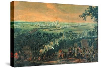 The Battle of Lesnaya, 1720S-Nicolas de Larmessin-Stretched Canvas Print