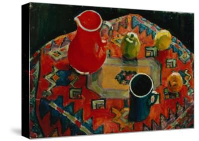 Apples and Pears, 1930-Julia Razumovskaya-Stretched Canvas Print