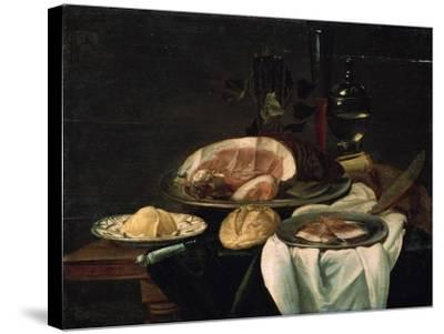 Still Life, 1650--Stretched Canvas Print