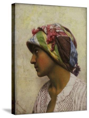 The Italian Girl, 1880-Feodor Andreyevich Bronnikov-Stretched Canvas Print