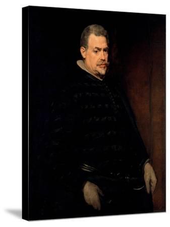 Don Juan Mateos, Ca 1631-Diego Velazquez-Stretched Canvas Print