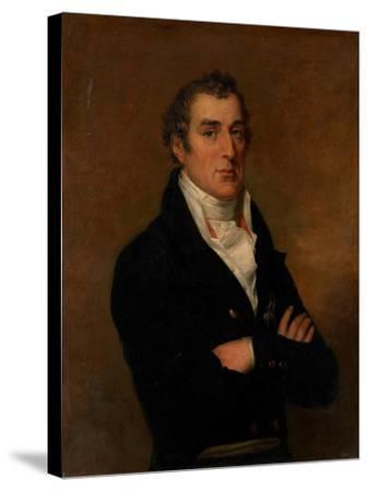 Portrait of Arthur Wellesley (1769-185), 1st Duke of Wellington-George Dawe-Stretched Canvas Print