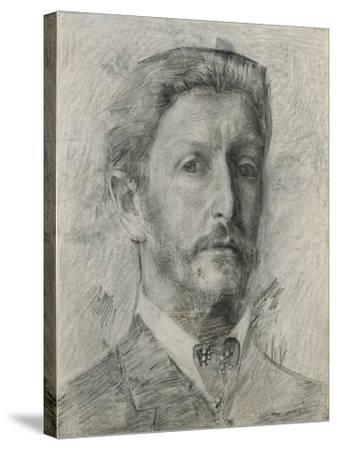 Self-Portrait, 1904-1905-Mikhail Alexandrovich Vrubel-Stretched Canvas Print