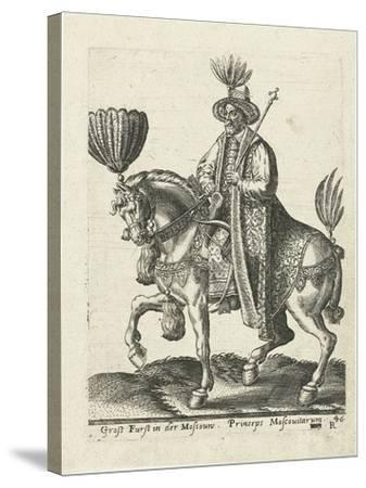 Grand Duke of Muscovy, 1577-Abraham de Bruyn-Stretched Canvas Print