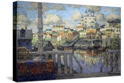 Pskov, 1915-Konstantin Ivanovich Gorbatov-Stretched Canvas Print