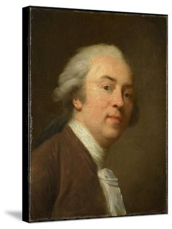 Self-Portrait, 1782-Johann Friedrich August Tischbein-Stretched Canvas Print