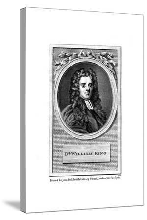William King, English Poet--Stretched Canvas Print