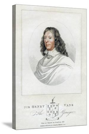 Henry Vane the Younger, Statesman and Member of Parliament, 1814--Stretched Canvas Print