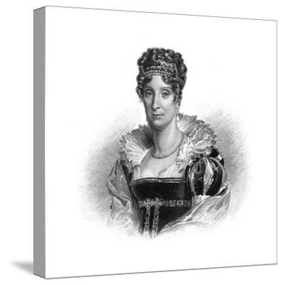 Maria Amalia of the Two Sicilies, Consort to King Louis-Philippe, 1830-Dean -Stretched Canvas Print