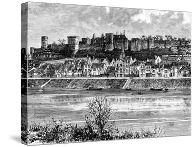 Chinon and the Vienne River, France, 19th Century-Taylor-Stretched Canvas Print