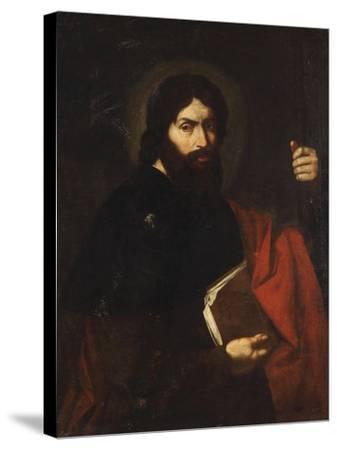 Apostle Saint James the Great-Jos? de Ribera-Stretched Canvas Print