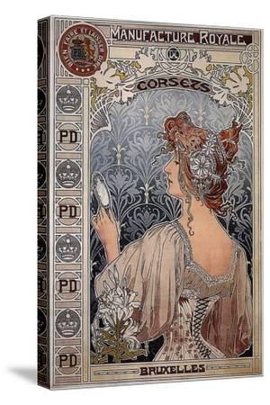 Manufacture Royale, 1897-Henri Privat-Livemont-Stretched Canvas Print