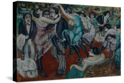 Café Chantant, 1913-Boris Dmitryevich Grigoriev-Stretched Canvas Print