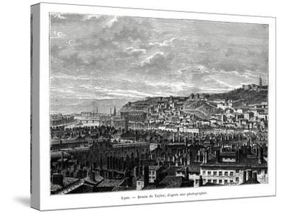 Lyon, France, 19th Century-Taylor-Stretched Canvas Print