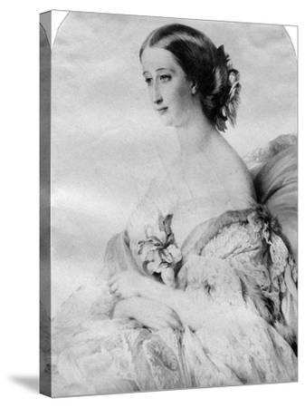 The Empress of the French--Stretched Canvas Print