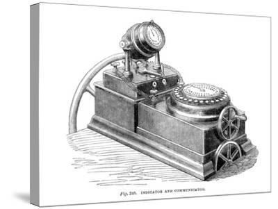 Indicator and Communicator, 1866--Stretched Canvas Print