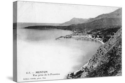 Menton, France, 1902- Giletta-Stretched Canvas Print