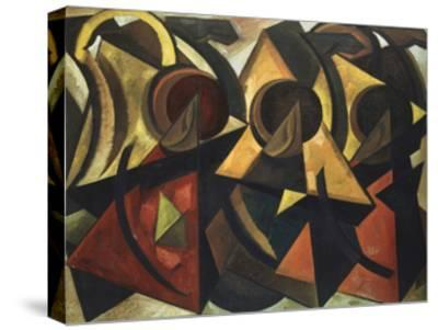 Caravan, 1922-Alexander Nikolayevich Volkov-Stretched Canvas Print