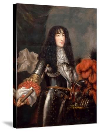 Philippe I, Duke of Orléans (1640-170)-Antoine Mathieu-Stretched Canvas Print
