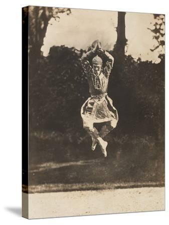 Danse Siamoise of Vaslav Nijinsky in the Ballet Les Orientales-Eugène Druet-Stretched Canvas Print