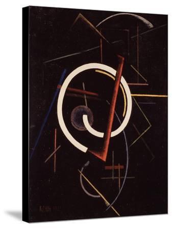 Linear Structure, 1922-Ivan Vassilyevich Klyun-Stretched Canvas Print