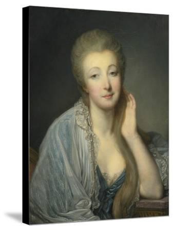 Jeanne Bécu, Comtesse Du Barry (1743-179)-Jean-Baptiste Greuze-Stretched Canvas Print