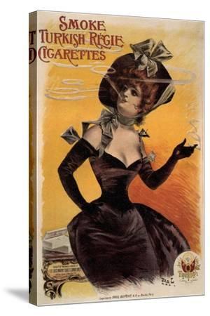 Smoke Turkish Regie Cigarettes, 1895-Jean de Paléologue-Stretched Canvas Print