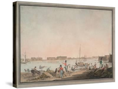 View of St. Petersburg from the Neva, 1808-Christian Gottlieb Hammer-Stretched Canvas Print