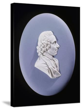 Wedgewood Plaque of Joseph Priestley (1733-180)--Stretched Canvas Print