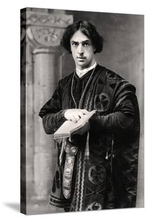 John Martin Harvey (1863-194), English Actor, 1907- Ellis & Walery-Stretched Canvas Print
