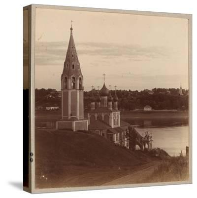 The Kazan-Preobrazhenskiy Church in Romanov-Borisoglebsk, 1910-Sergey Mikhaylovich Prokudin-Gorsky-Stretched Canvas Print