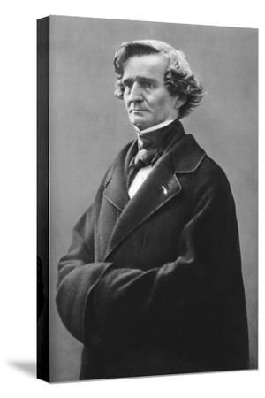 Hector Berlioz (1803-186), French Romantic Composer-Felix Nadar-Stretched Canvas Print