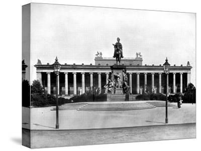 The Royal Museum, Berlin, 1893-John L Stoddard-Stretched Canvas Print