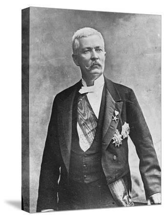 Henry Morton Stanley, Welsh Journalist and Explorer, Late 19th or Early 20th Century--Stretched Canvas Print