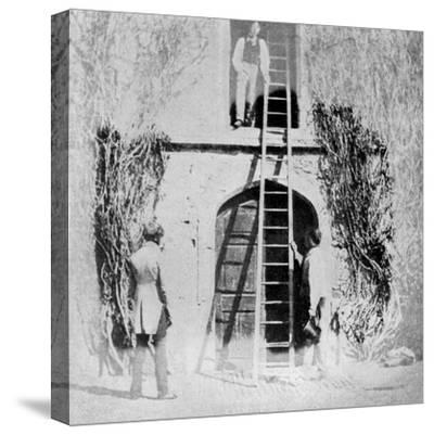 A Very Early Photograph, 1844-William Henry Fox Talbot-Stretched Canvas Print