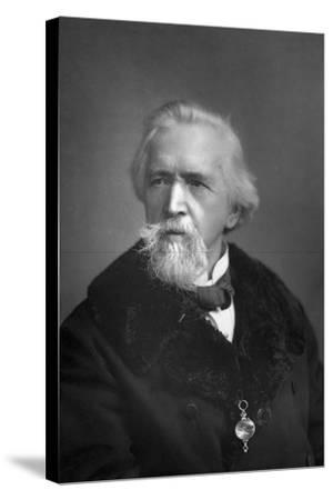 George Jacob Holyoake (1817-190), English Secularist, 1893-W&d Downey-Stretched Canvas Print
