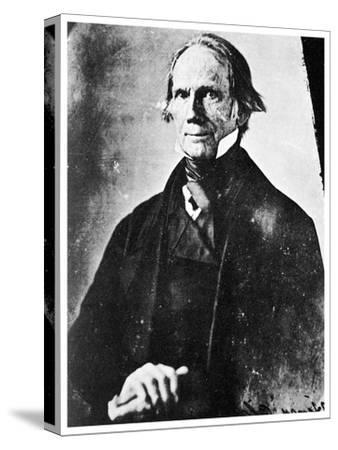 Henry Clay, American Statesman, 1850-MATHEW B BRADY-Stretched Canvas Print