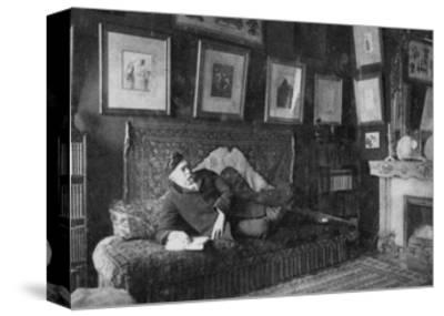 Edmond De Goncourt, French Author, 1891--Stretched Canvas Print