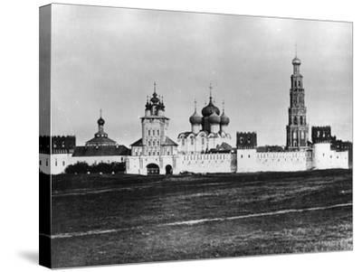 Novodevichy Convent (New Maidens' Conven), Moscow, Russia, 1879- Scherer Nabholz & Co-Stretched Canvas Print
