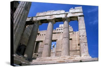 Entrance to the Acropolis, Athens, 5th Century Bc--Stretched Canvas Print