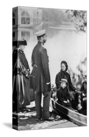 Tsar Alexander II of Russia and Members of His Family, C1863-C1865--Stretched Canvas Print
