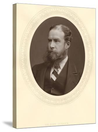 John Lubbock, First Baron Avebury, English Banker, Archaeologist, Naturalist and Politician, C1880--Stretched Canvas Print