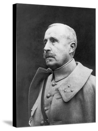 Robert Georges Nivelle, French First World War Genreral--Stretched Canvas Print