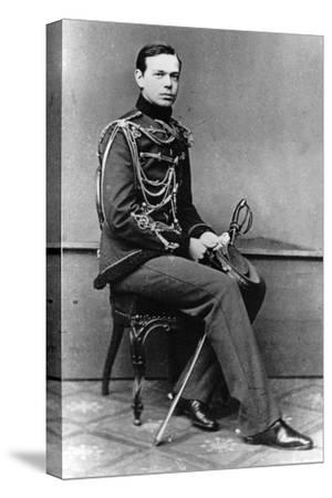 Grand Duke Alexander Alexandrovich of Russia, C1860-C1862--Stretched Canvas Print