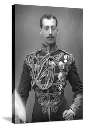 Albert Victor, Duke of Clarence (1864-189), English Prince, C1890--Stretched Canvas Print